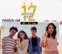 Myntra 12th Birthday Bash Sale Offers: Get Upto 80% OFF on Branded Clothing, Extra Discount Using ICICI, Airtel Banks and Mobikwik Offers