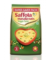Buy Saffola Masala Oats, Veggie Twist, 1 kg just at Rs 304 only from Amazon
