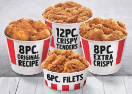 KFC Wednesday Offer: 12 Pcs Boneless Strips Rs 350 | KFC Buckets @ 199 only | Free Ginger with Every Order