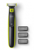 Buy Philips QP2525/10 OneBlade Hybrid Trimmer and Shaver with 3 Trimming Combs (Lime Green) at Rs 1,699 from Amazon