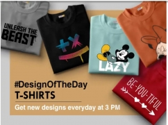 Bewakoof Coupons & Offers: Get Upto Flat 50% OFF on Funky Designer Tshirts, Extra 20% Cashback on Every Order