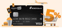 Free Amazon Pay ICICI Credit Card- Get Rs 500 on Signup, No Joining Fees, Unlimited 5% Rewards on Every Transactions on Amazon
