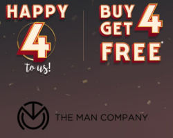 The Man Company Offers: Get Flat Rs 250 OFF on Beard Combos, Extra 100% Cashback Via Paypal