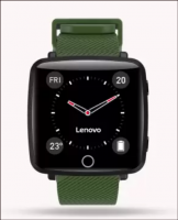 Buy Lenovo Carme Green Smartwatch at Rs 1,999 only from Flipkart
