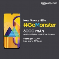 Buy Samsung Galaxy M30s Amazon Price at Rs 13,999,  Next Sale Date 29th September, Specifications, Buy Online in India