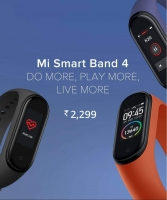 Buy Mi Smart Band 4 Amazon Price @ Rs 2299, Next Sale Date 19th September @12 pm, Specifications, Buy Online in India