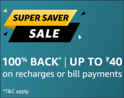 Amazon Pay Recharge Cashback Offers: Flat 100% Cashback upto Rs 50 on Recharge and Bill Payment On Amazon