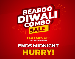 Beardo Coupons & Offers: Signup and get 500 reward points, Extra Flat 50% OFF on All Beardo Combos, 100% Cashback on First Paypal Transaction at Beardo
