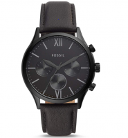 Fossil Fenmore Multifunction Black Dial Men's Watch at Rs 5995 From Amazon, Extra 10% Bank Disocunt