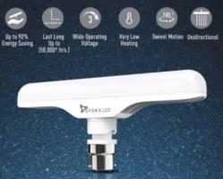 Buy Syska 12 W T-Bulb B22 LED Bulb (White, Pack of 2) at Rs 395 from Flipkart