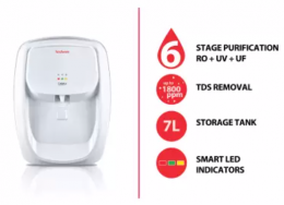 Hindware Calisto 7 L RO + UV + UF Water Purifier at Rs 6999 from Flipkart, Extra 10% Bank Discount