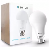 Buy Smitch Wi-Fi White Ambience (6500k, 10W) B22 Base Smart Bulb at Rs 199 from Flipkart