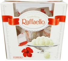 Buy Ferrero Rocher Raffaello Coconut And Almond 15 Piece Box Truffles (150 g) at Rs 399 only from Amazon