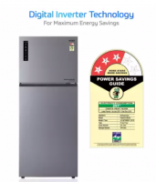 Buy MarQ by Flipkart 411 L Frost Free Double Door 3 Star 2019 BEE Rating Refrigerator (Silver, 411AF3MQS) at Rs 32,999 from Flipkart