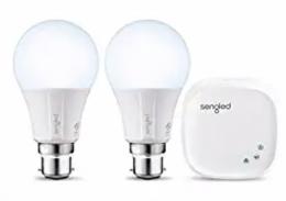 Buy Sengled Element Classic E11- G33P Z02-hub 60-Watt Equivalent Smart LED Daylight Bulb Kit at Rs 799 only