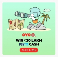 Oyo Q Quiz Contest Answers 5th-6th March 2020: Answer The Questions and Win Iphone XR & Upto 30 Lakh Paytm Cash & OYO Money