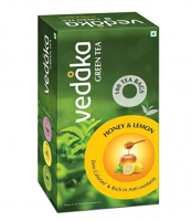 Buy Amazon Brand Vedaka Green Tea, Lemon and Honey, 100 Bags at Rs 199 from Amazon Pantry