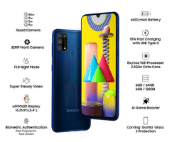 Buy Samsung Galaxy M31 Amazon Price @ Rs 14,999 Specifications, Buy Online in India, Extra Bank Discounts