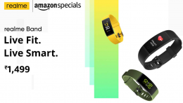 Buy Realme Band (Green Strap, Size: Regular) Amazon Price @ Rs 1259