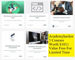 Academyhacker 5 Premium Online Courses Worth $1011 Free