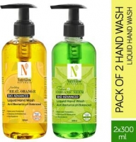 Buy NutriGlow NATURAL'S Anti Bacterial Hand Wash Pump Dispenser (2 x 300 ml) @ Rs 299 from Flipkart