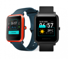 Buy Huami Amazfit Bip S Lite Smartwatch(Black Strap, Regular) at Rs2,999 from Flipkart