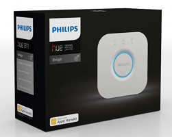 Philips Hue Bridge, Compatible with Amazon Alexa, Apple HomeKit, and Google Assistant at Rs 4990 from Amazon