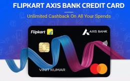 Apply Flipkart Axis Bank Credit Card Online Offers, Free Rs 500 Flipkart Gift voucher