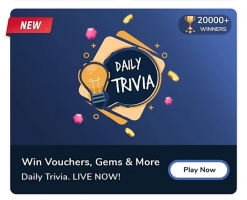 Flipkart Daily Trivia Quiz Answers 9th July- Answer and Win Flipkart Gift vouchers, Gems and Offers