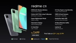Realme C11 Flipkart Price Rs 7499, Next Sale Date 12th August @12PM, Specifications
