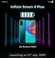 Buy Infinix Smart 4 Plus Flipkart Price Rs 7999, Specifications, Next Sale Date 8th September @12PM