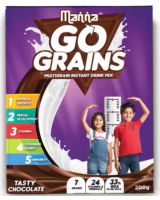 Buy Manna Go Grains Nutrition Drink (200 g) 40% OFF at Rs 49 from Flipkart