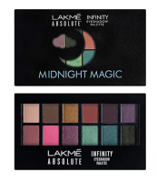 Buy Lakme Absolute Infinity Eye Shadow Palette, Midnight Magic, 12 g at Rs 599 from Amazon