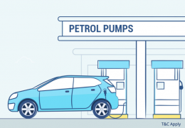 Petrol Pump Payment Coupons Offers: Flat Rs 30 discount at petrol pumps: 5PM - 9PM only via mobikwik