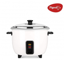 Buy Pigeon by Stovekraft Joy 1.0 SDX 1-Litre 400-Watt Rice Cooker (White) at Rs 789 from Amazon