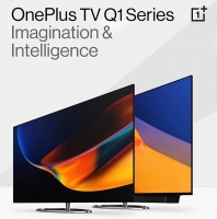 Buy OnePlus Q1 Series Ultra HD, 4K QLED Smart Android TV starting at Rs 62,899 from Flipkart, Extra Upto Rs 8000 Bank Discount, Additional Free 1000 Supercoins