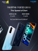 Buy Realme Narzo 20 Pro (64 GB, 6 GB RAM) Flipkart Price at Rs 12999 (prepaid) Specifications & Buy Online In India