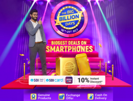 Flipkart Big Billion Days Mobile Loot Offers: Upto 80% Discount on Mobiles, Extra 10% SBI Bank Discount Between 16th-21st October 2020