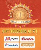 Gyftr Gift Voucher Coupon Offers: Buy Top Brands Gift Vouchers at Rs 1 Only [5th To 7th Nov 2020]