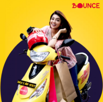 Bounce Coupons and Promo Codes: Upto Rs 400 OFF on Bounce Zest Scooters