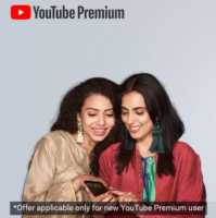 Youtube Premium Membership Subscription Offer: Get 6 Months Free Subscription from Flipkart at 120 Supercoins