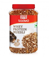 Buy Amazon brand - Solimo Whey Protein Muesli, 1kg at Rs 455 from Amazon