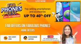 Amazon Fab Phones Fest Offers: Get Upto 40% OFF on Top Mobiles, Extra 10% Kotak Bank Discount [22th to 25th Feb, 2021]