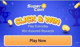 Flipkart Click & Win Offer Games: Play Flipkart Big Saving Days Challenge Games and Get Free SuperCoins Everyday