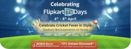 Flipkart TV Discount Offers: Upto 75% OFF on Ultra HD Smart LED Televisions, Extra 3000 OFF via Super Coins + Extra Axis Bank Discount Offers