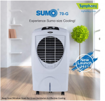 Buy Symphony Sumo 70- G Desert Air Cooler - 70L at Rs 7999 from Flipkart
