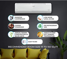 Buy Whirlpool 1.5 Ton 5 Star Inverter Split AC (1.5T MAGICOOL PRO 5S COPR INVERTER) at Rs 33,990 from Amazon