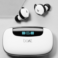 Buy boAt Airdopes 621 Bluetooth Truly Wireless Earbuds with Mic (White Frost) at Rs 2499 from Amazon