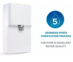 Buy Mi Smart Water Purifier RO+UV, 7L, with Advanced Penta Purification Process, App Connectivity and DIY Filter Replacement (White) at Rs 10,499 from Amazon