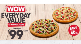Pizza Hut Coupon Offers: Save upto 50% OFF on Pizza, Extra Rs 150 OFF on All Pizzas- Code- HUT125